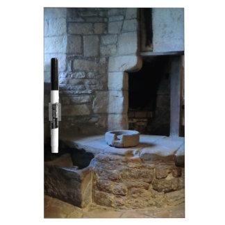Cocina medieval de Haddon Pasillo Tableros Blancos