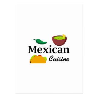 COCINA MEXICANA POSTAL