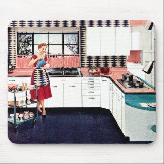 Cocina retra Mousepad del estilo Tapetes De Ratón