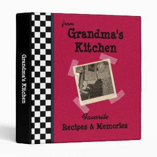"""Cocina roja 1"""" de las abuelas carpeta de encargo"""