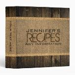 Cocina rústica de la arpillera que cocina la