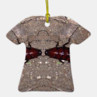 Cocina salvaje de la delicadeza - ciencia, adorno de cerámica en forma de camiseta