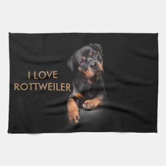 Cocina Towl Rottweiler Toallas