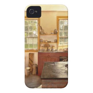 Cocina - una cocina de los 1840's iPhone 4 Case-Mate carcasa