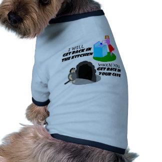 Cocina y cueva ropa perro