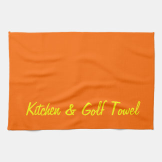 Cocina y golf toallas de mano