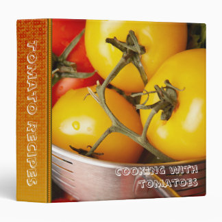 """Cocinando con recetas del tomate 1,5"""" carpeta del"""