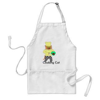 , Cocinando el gato Delantal
