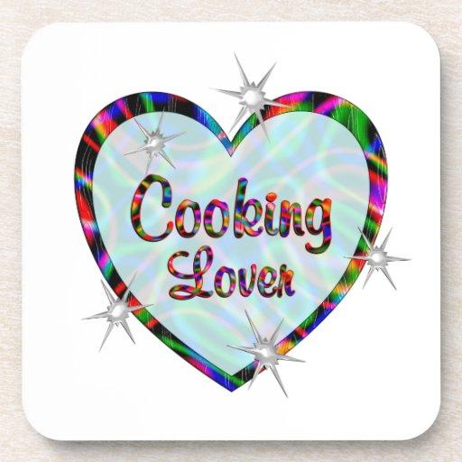 Cocinar a amantes posavaso