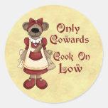 Cocinar a cobardes etiqueta
