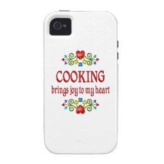 Cocinar alegría Case-Mate iPhone 4 funda
