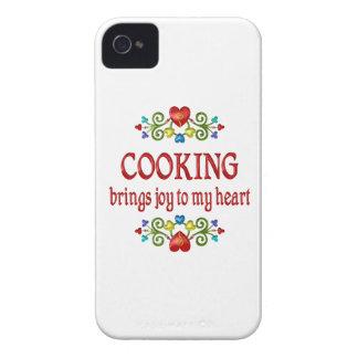 Cocinar alegría iPhone 4 funda