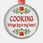 Cocinar alegría ornaments para arbol de navidad