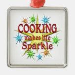 Cocinar chispas ornato