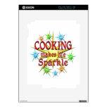 Cocinar chispas skin para el iPad 2