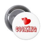 Cocinar corazones pins