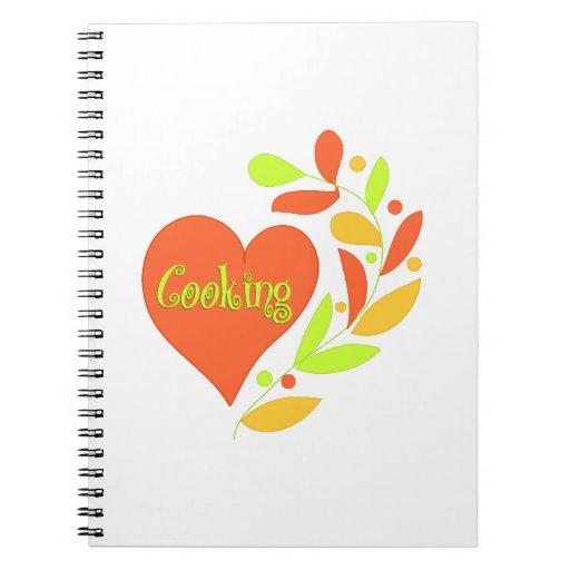 Cocinar el corazón cuadernos