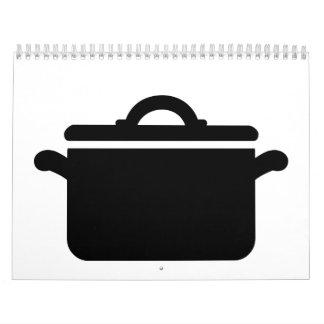 Cocinar el pote calendario