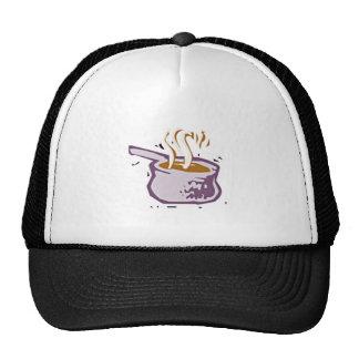 Cocinar el pote gorros bordados
