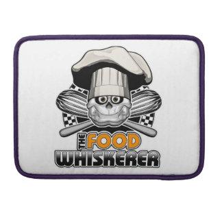 Cocinar humor: Comida Whiskerer 4 Funda Macbook Pro