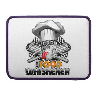 Cocinar humor: Comida Whiskerer 5 Funda Macbook Pro