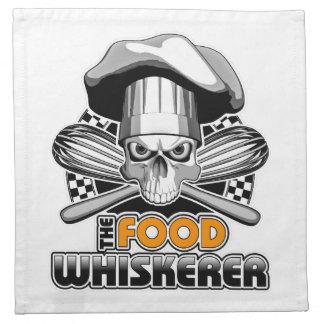 Cocinar humor: Comida Whiskerer 7 Servilletas