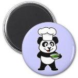 Cocinar la panda iman para frigorífico