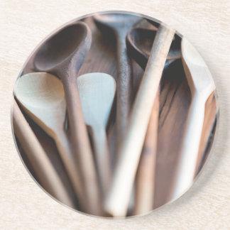 Cocinar las cucharas posavaso para bebida