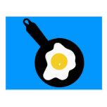 Cocinar los huevos postales