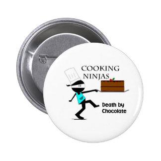 Cocinar Ninjas Pin Redondo De 2 Pulgadas