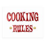 Cocinar reglas postal
