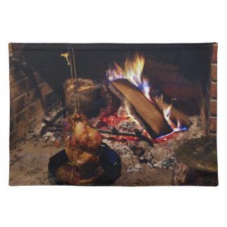 Cocinarlo encima de Placemats Manteles