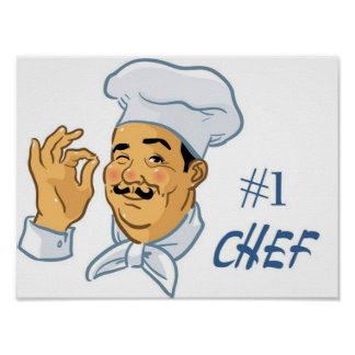 Cocinero #1 posters