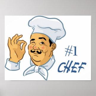 Cocinero #1 póster