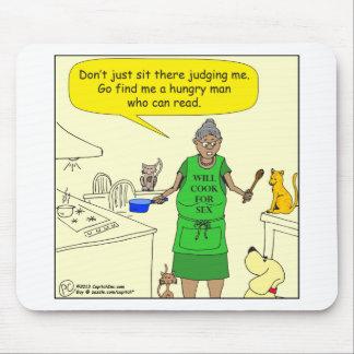cocinero 526 para el dibujo animado de los favores mouse pads