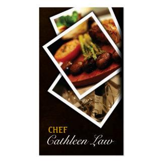 Cocinero abastecimiento comida restaurante tar