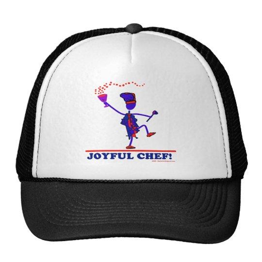Cocinero alegre gorras de camionero