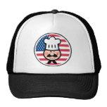 Cocinero americano gorras