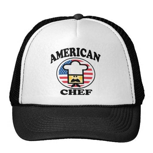 Cocinero americano gorro