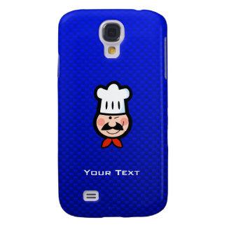 Cocinero; Azul Funda Para Galaxy S4