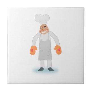 Cocinero Azulejo Ceramica