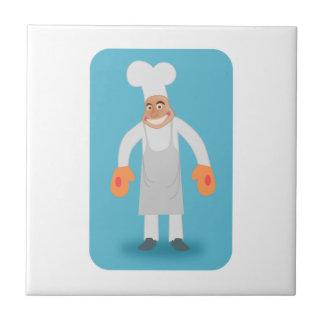 Cocinero Azulejos