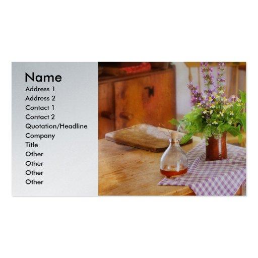 Cocinero - cada mañana tarjetas de visita