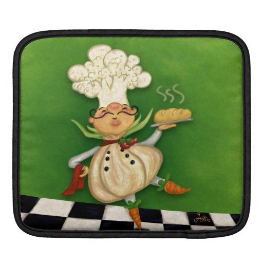 Cocinero caprichoso fundas para iPads