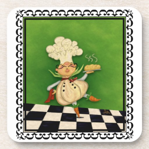 Cocinero caprichoso posavaso