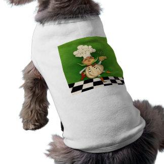 Cocinero caprichoso ropa de mascota