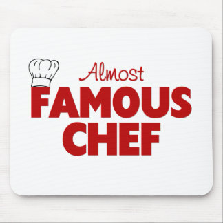 Cocinero casi famoso tapete de ratón