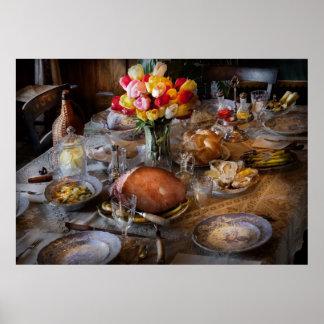 Cocinero - cena de Pascua Impresiones
