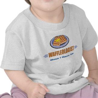 Cocinero chistoso de la galleta camisetas