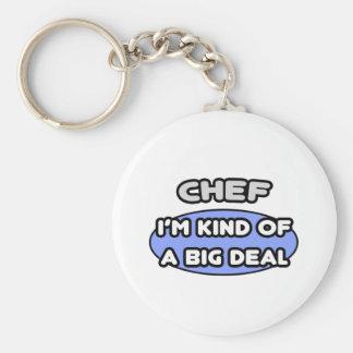 Cocinero. Clase de una gran cosa Llavero Redondo Tipo Pin